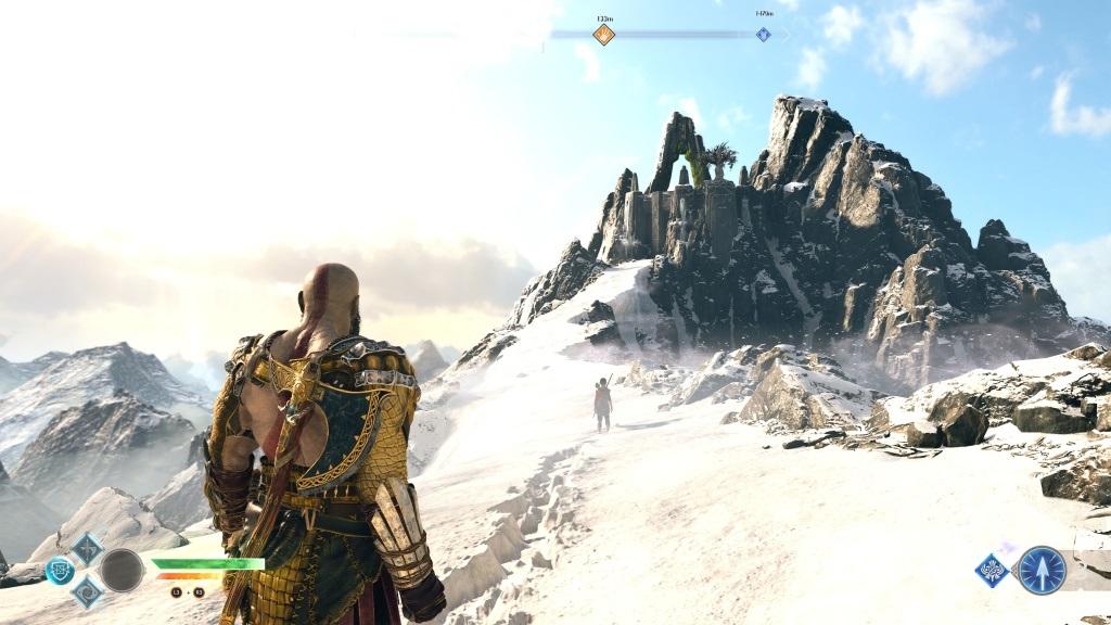 God of War; Gameplay: vrchol midgardu