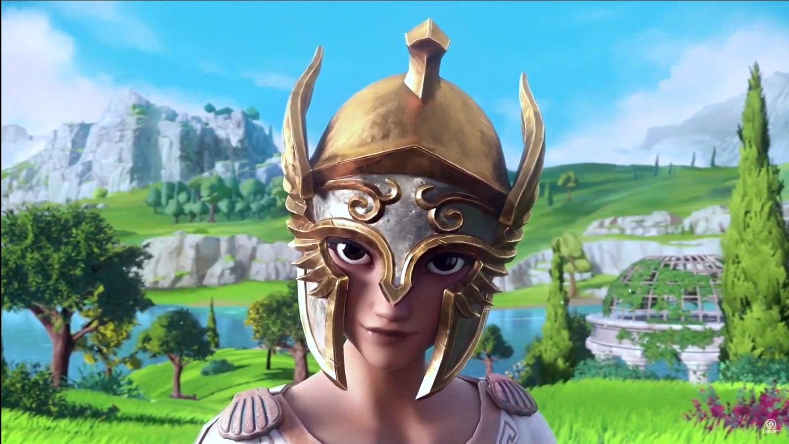 Gods & Monsters; screenshot: Fenyx