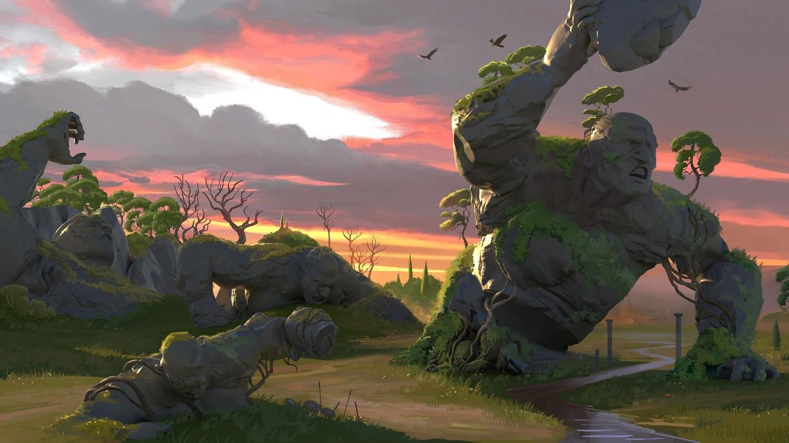 Gods & Monsters; screenshot: prostředí