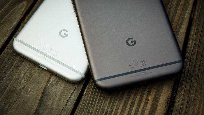 Google Pixel barvy
