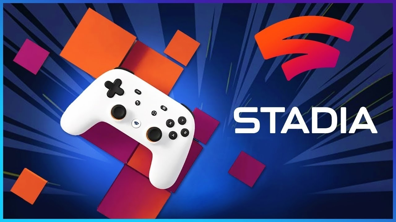 Google Stadia; screenshot: cover, logo