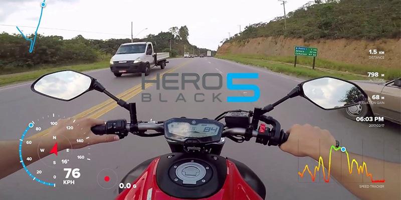 Užijte si telemetrické údaje ve svém GoPro videu