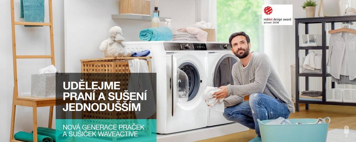 Udělejme praní a sušení prádla jednodušší