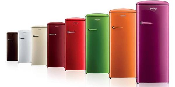 Moderní chladničky Gorenje v pestrých barvách