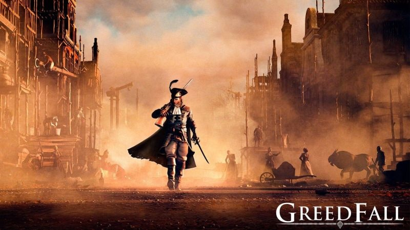 GreedFall; wallpaper: cover