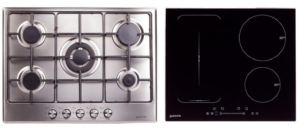 Guzzanti vestavná varná deska plynová a indukční - GZ 8206