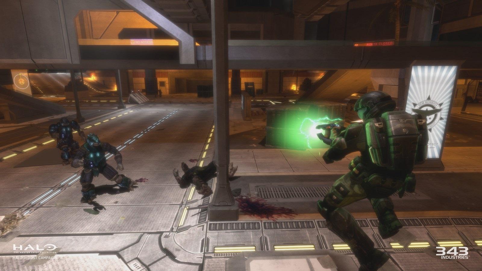 Halo: The Master Chief Collection; screenshot: emzáci