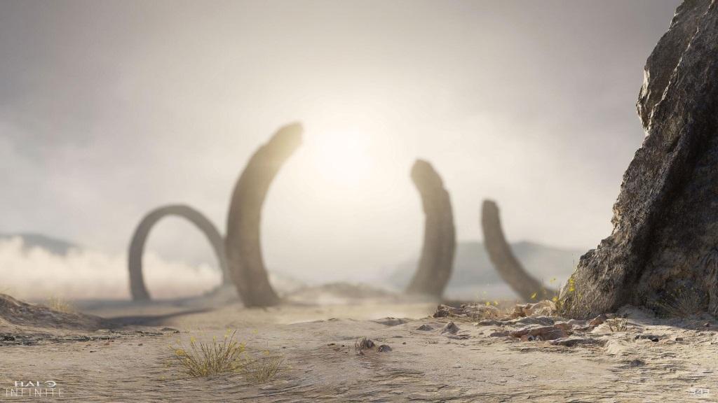Halo Infinite; screenshot: brána