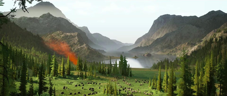 Halo Infinite; screenshot: krajina