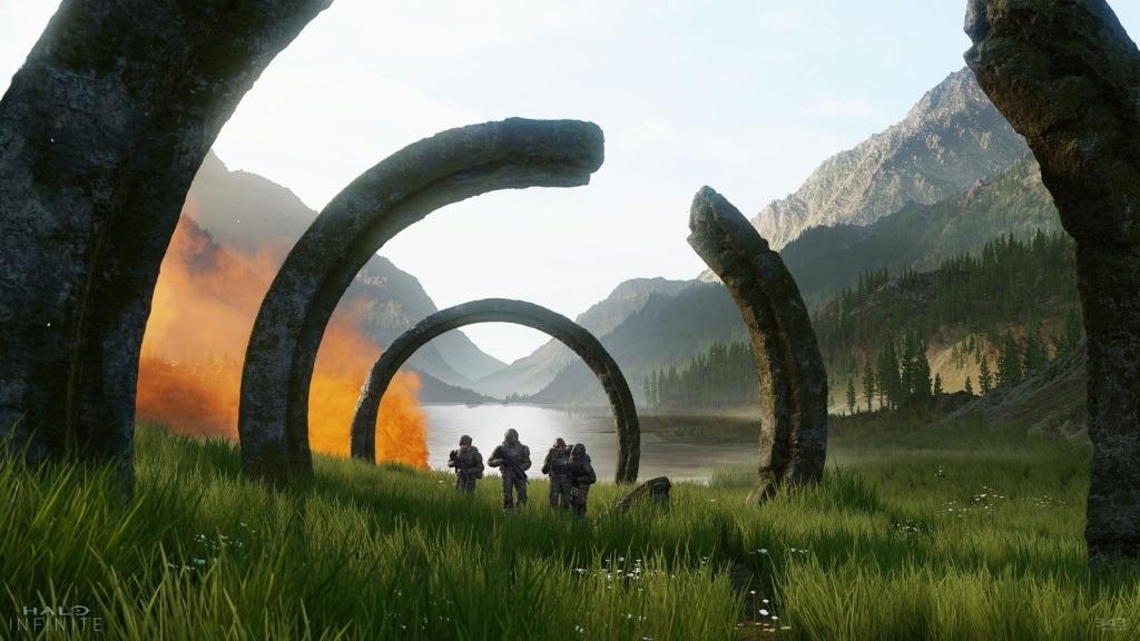 Halo Infinite; screenshot: mariňáci