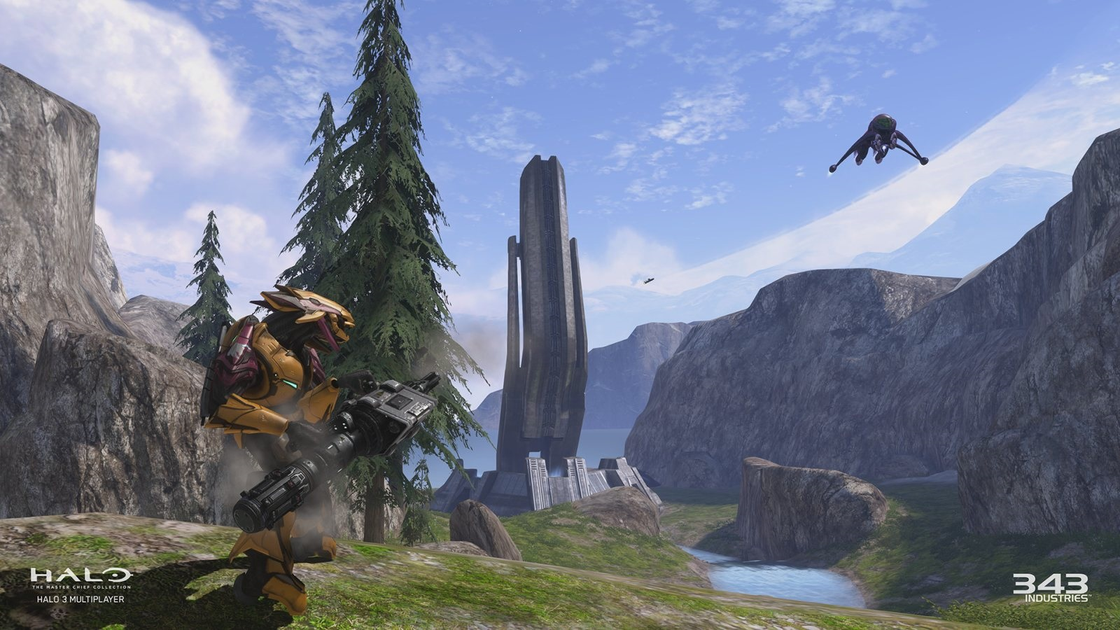 Halo: The Master Chief Collection: screenshot: loď
