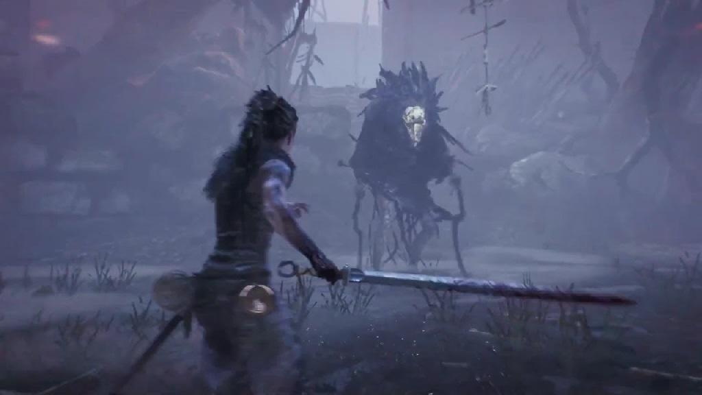Hellblade: Senua's Sacrifice; Wallpaper: boss souboj