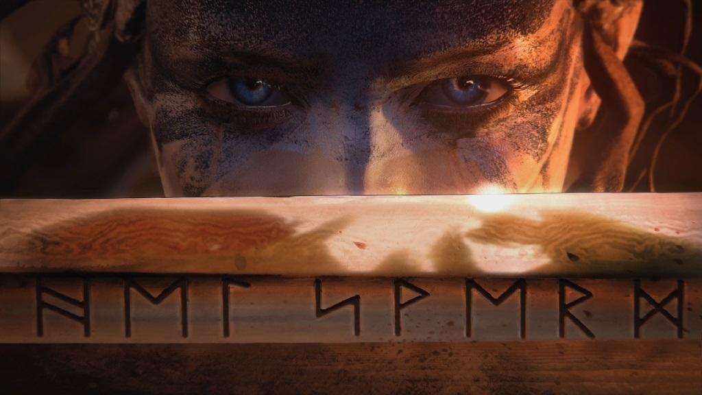 Hellblade: Senua's Sacrifice; Senua, runovy mec