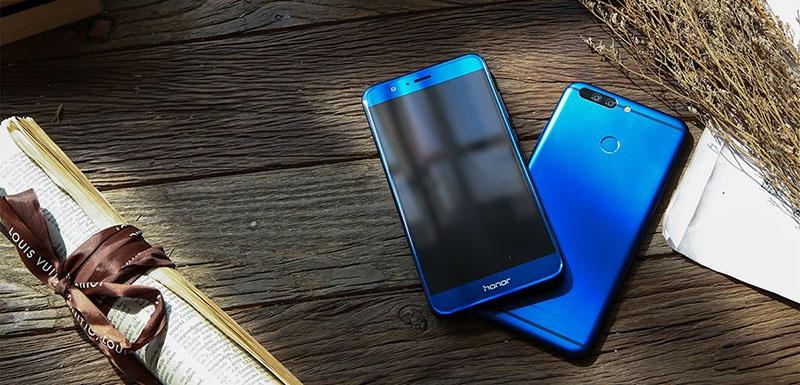 Honor 8 Pro, modrá varianta