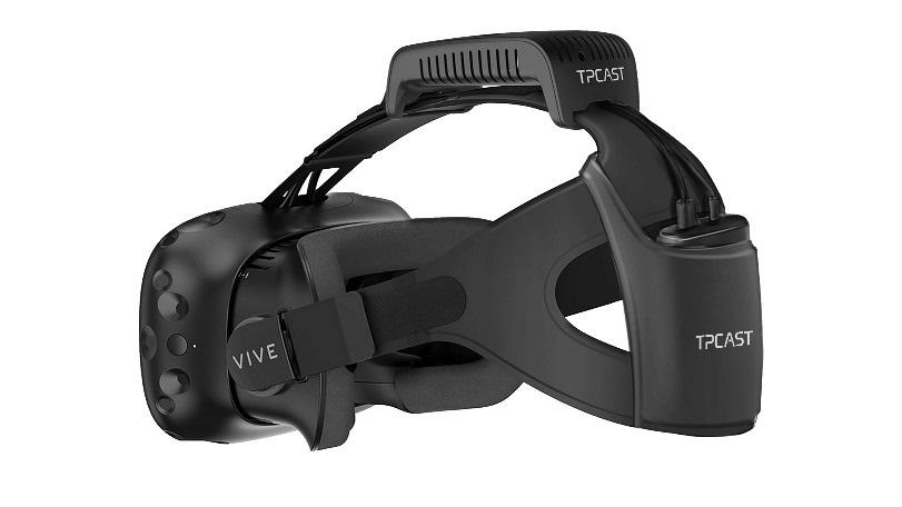 Bezdrátový set k brýlím HTC Vive