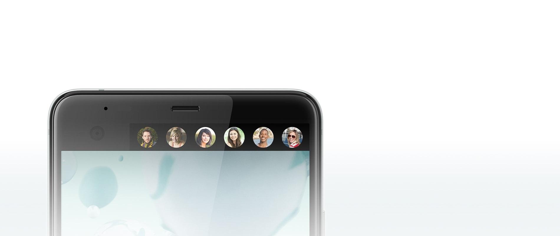 HTC U Ultra, sekundární displej