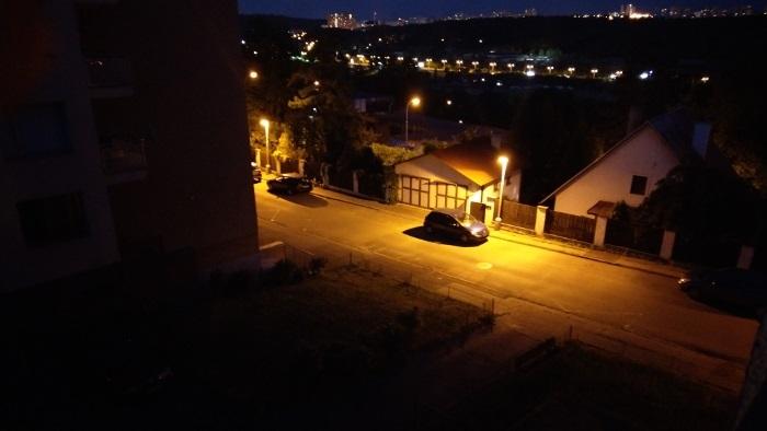 HTC U11 Fotka za tmy
