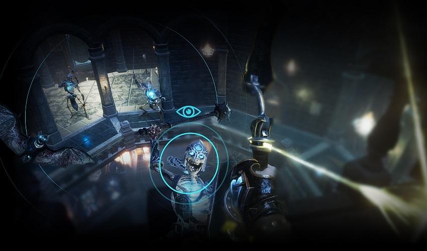 HTC Vive Pro Eye rendering