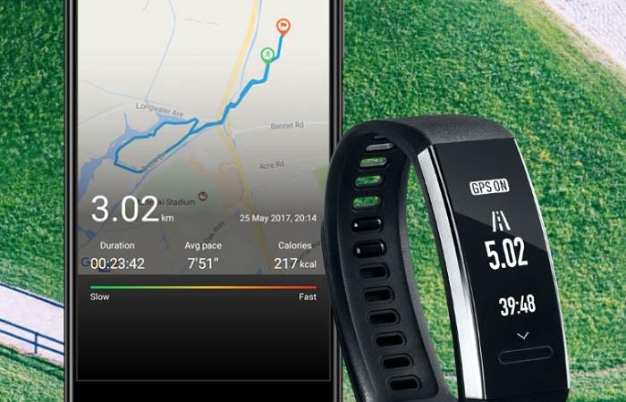 Huawei Band 2 GPS
