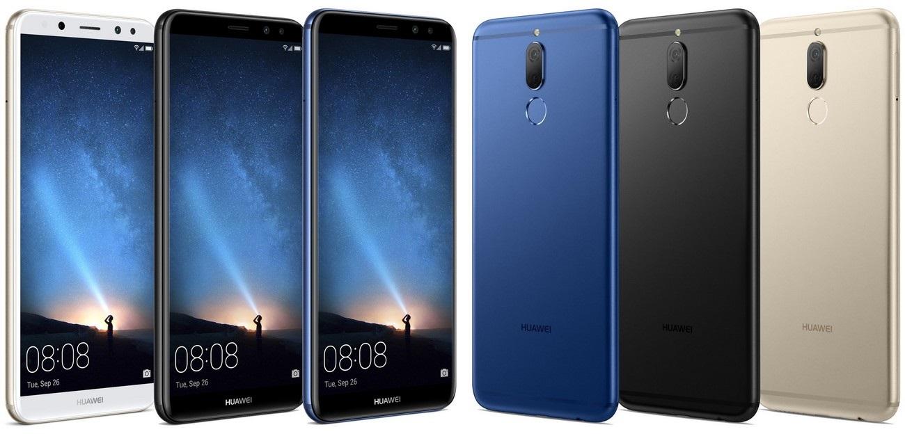 Huawei Mate 10 Lite, barevné varianty