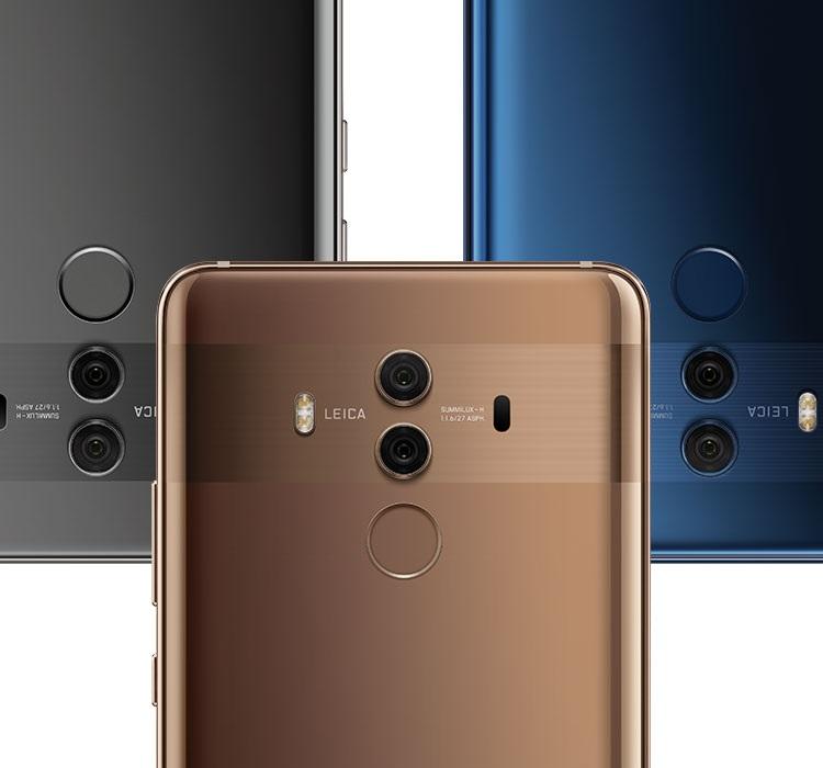 Huawei Mate 10 Pro, fotoaparát