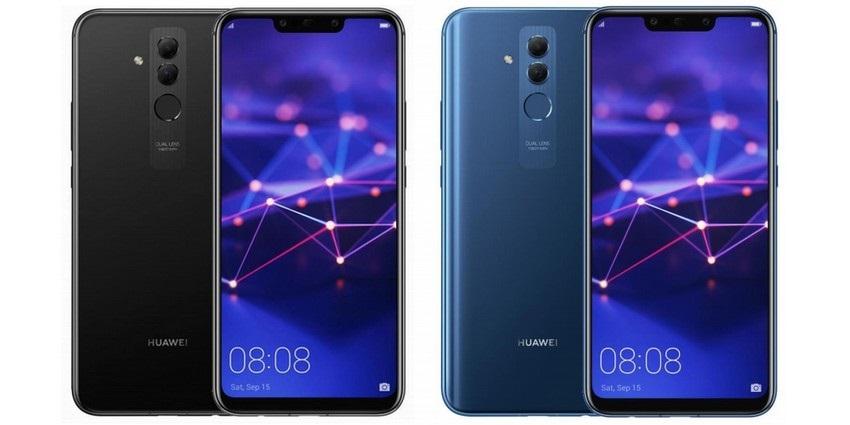 Huawei Mate 20 Lite, černá, modrá
