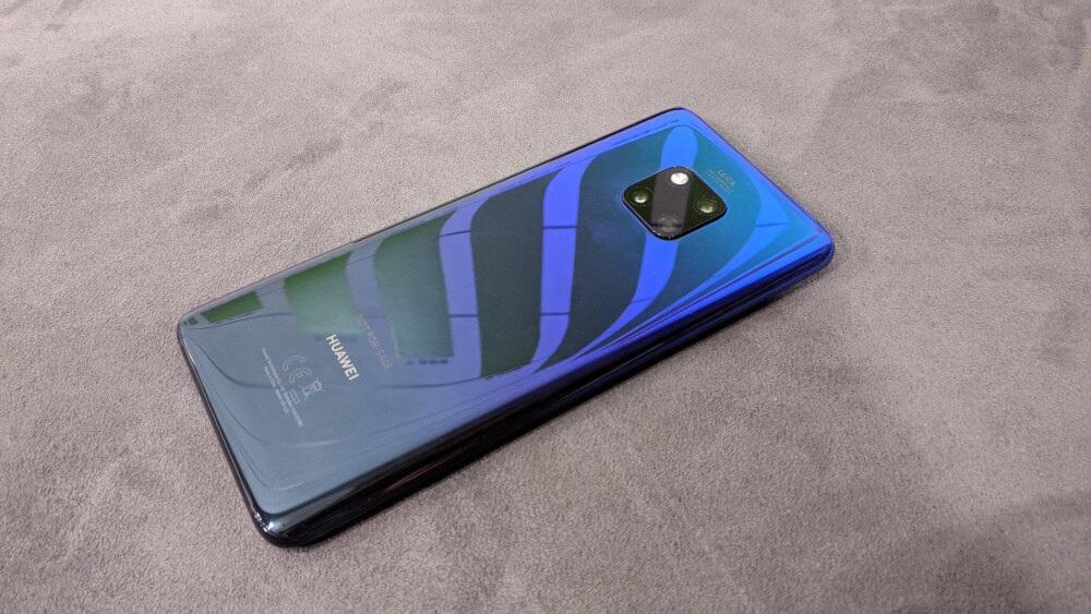 Huawei Mate 20 Pro, recenze, design a konstrukce