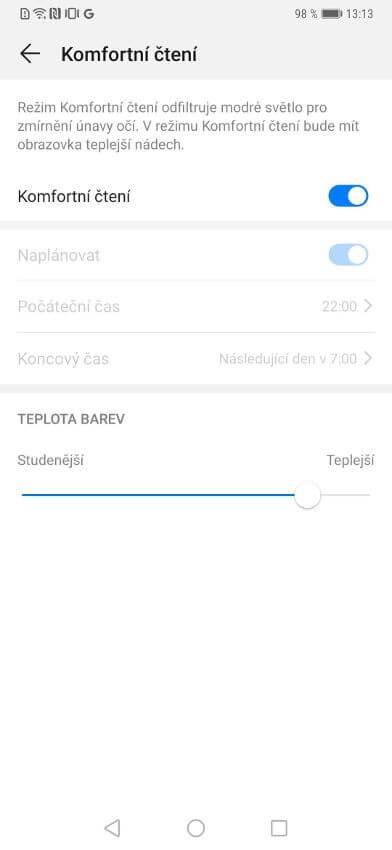 Huawei Mate 20 Pro, recenze, displej