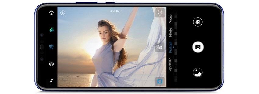 Huawei nova 3, fotoaparát