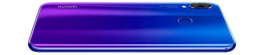 Huawei nova 3, fialový