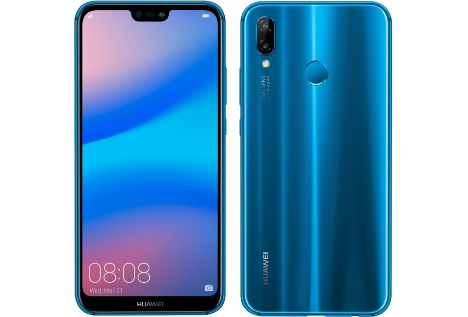 Huawei P20 Lite, modrá barva