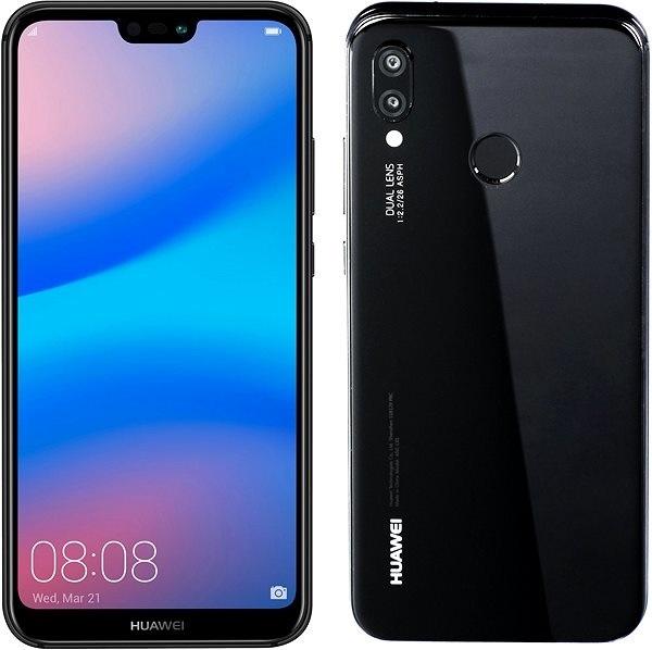 Huawei P20 lite, černý
