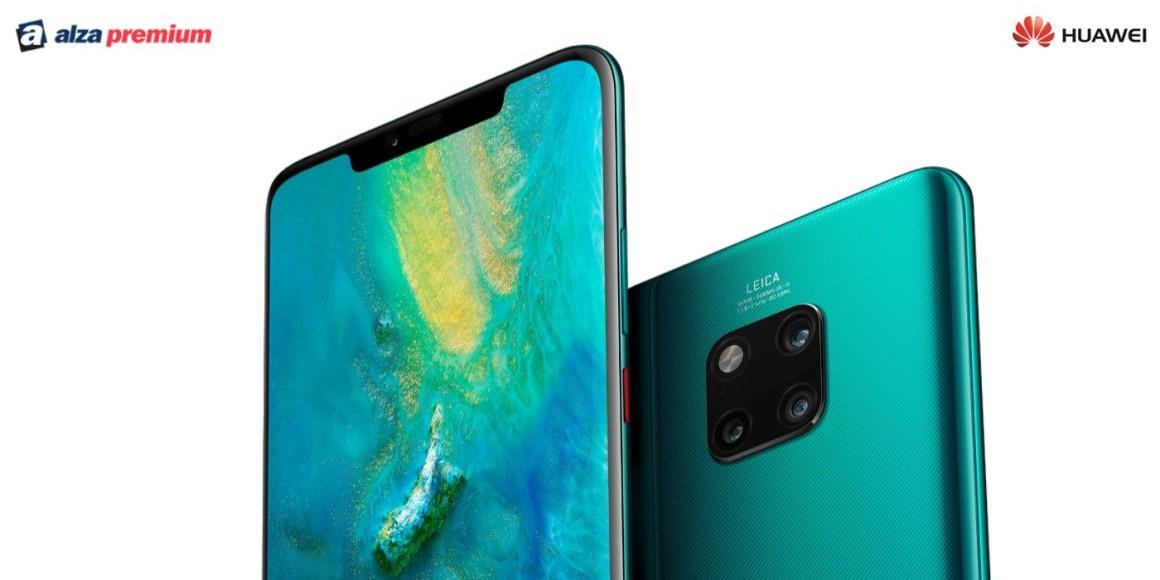 Sleva na telefony Huawei s Alza Premium