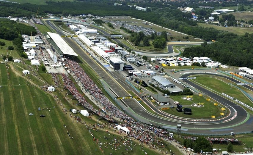 Pohled na závodiště