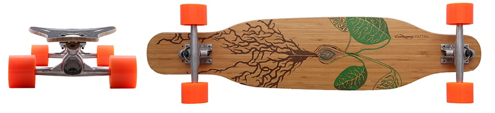 Hybridní longboard, skateboardové triky, downhill, freeride