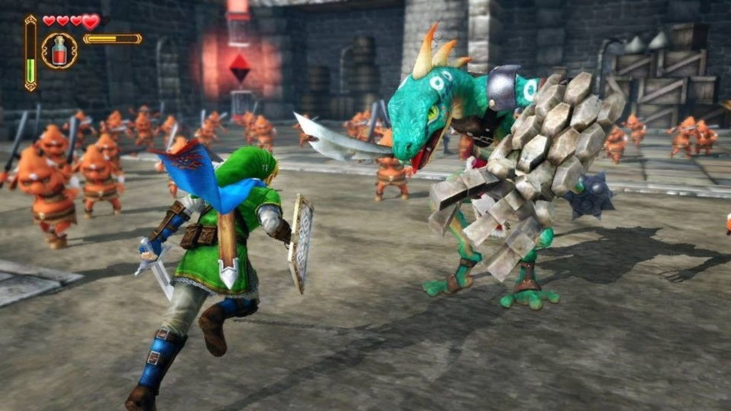 Nejočekávanější hry květen 2018; Hyrule Warriors: Definitive Edition, gameplay: Zelda útočí