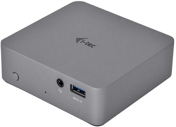 Dokovací stanice i-TEC USB-C Metal 4K, design