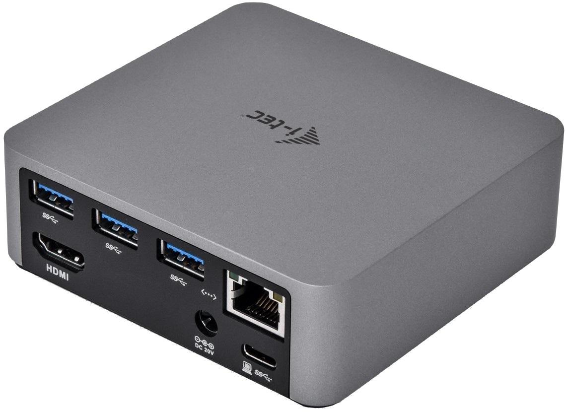 Dokovací stanice i-TEC USB-C Metal 4K, konektory