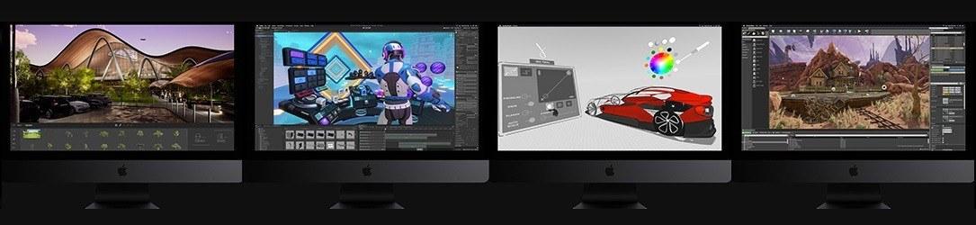 iMac Pro 2018 - aplikace