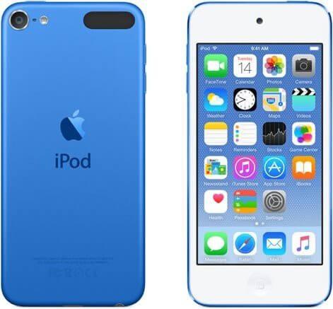 iPod Touch modrý