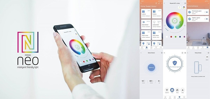 Mobilní aplikace Immax NEO