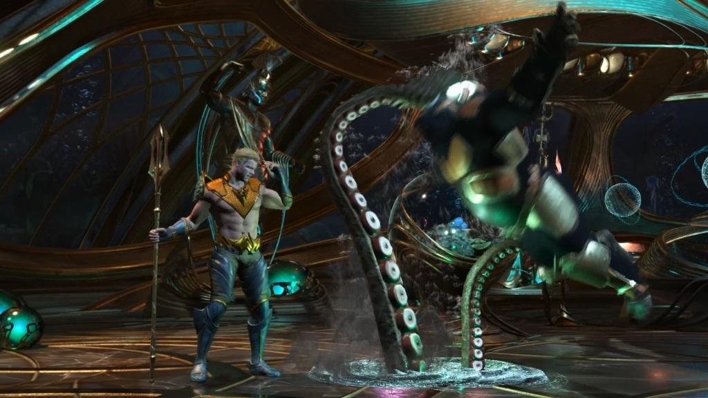 Nejlepší hry; Injustice 2 Legendary Edition; Gameplay: Aquaman útočí