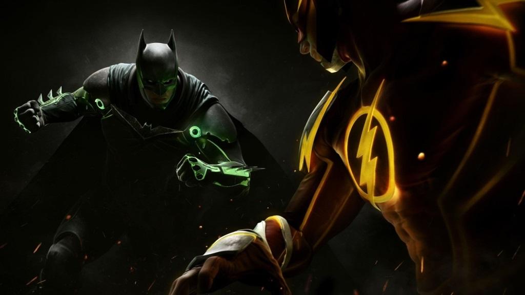 Nejlepší hry; Injustice 2 Legendary Edition; Wallpaper: Batman, Flash