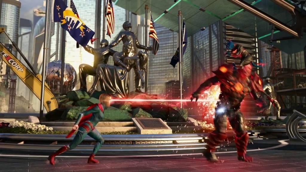 Nejlepší hry; Injustice 2 Legendary Edition; Gameplay: Laserový zrak