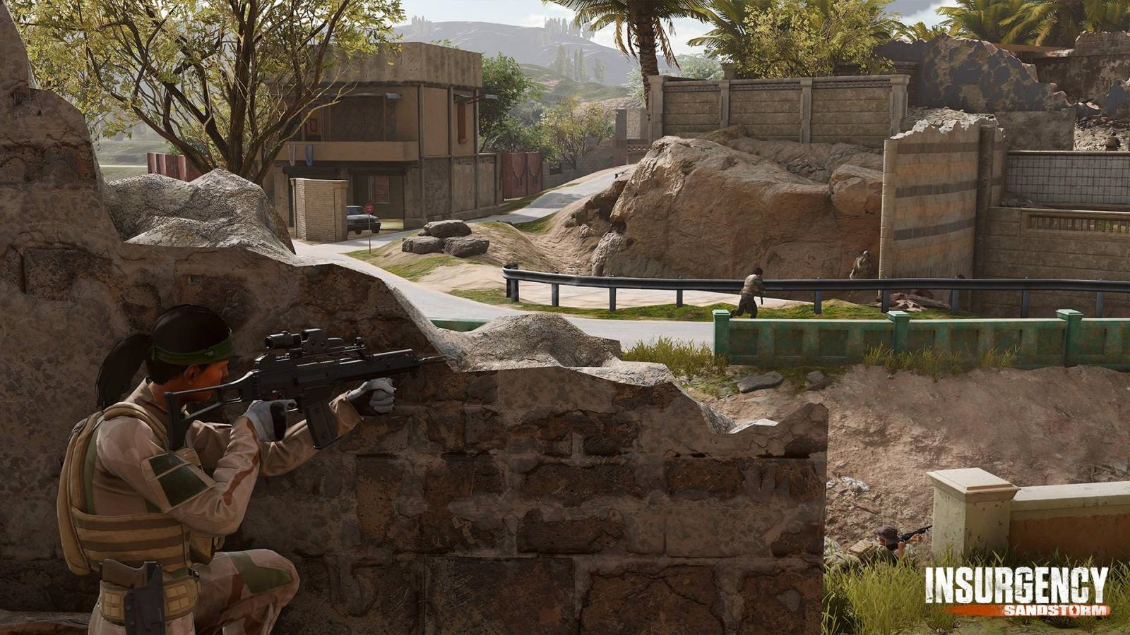 Nejočekávanější hry v prosinec 2018; Insurgency: Sandstorm, screenshot: krytí