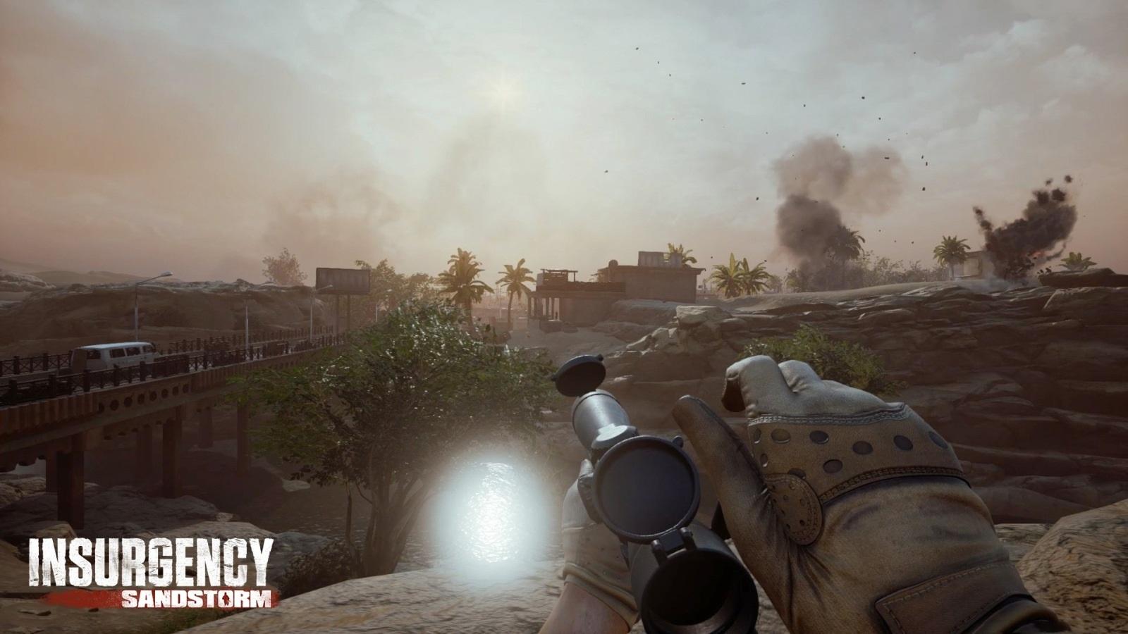 Nejočekávanější hry v prosinec 2018; Insurgency: Sandstorm, screenshot: sniper