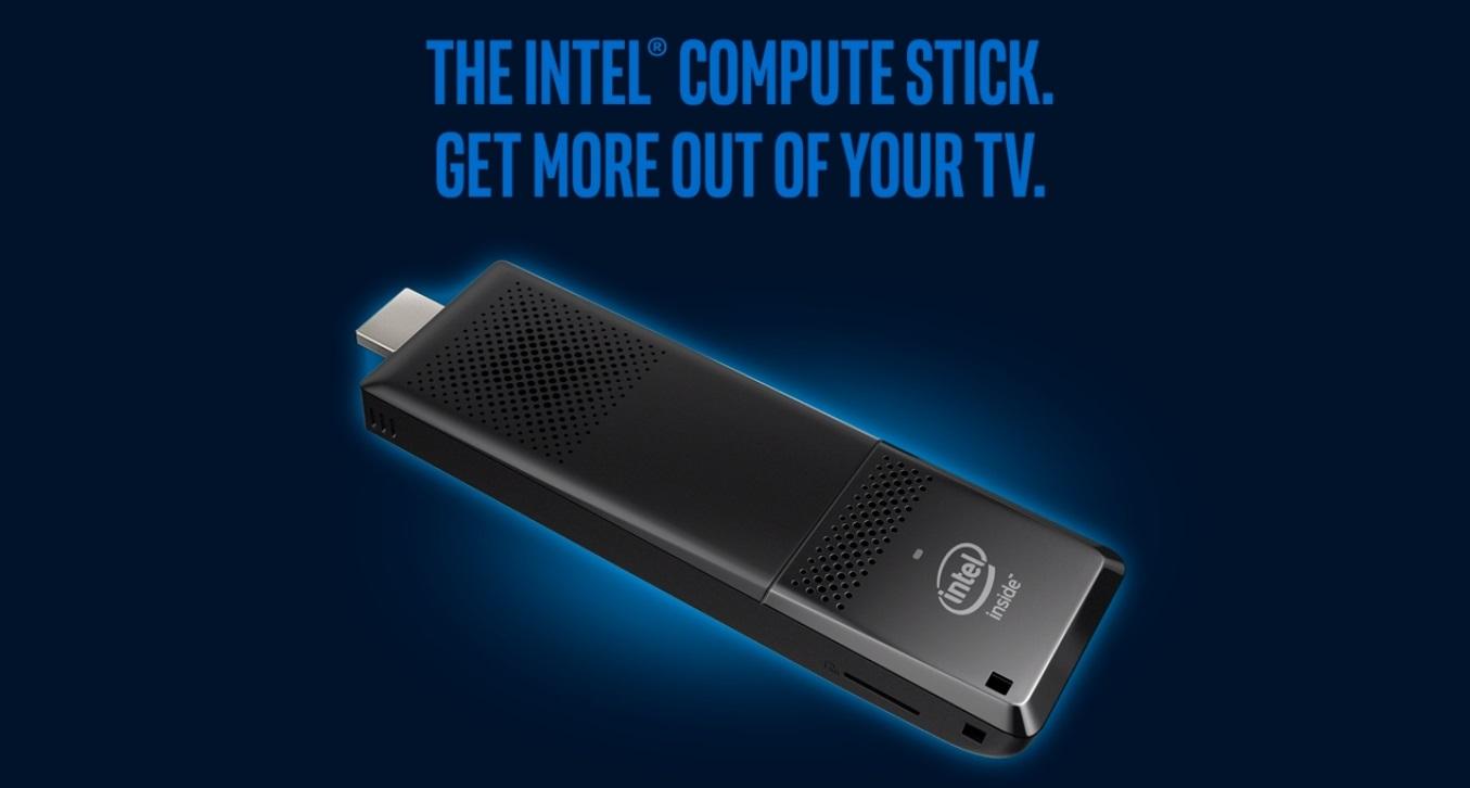 Kapesní počítač Intel Compute Stick oživí vaši televizi