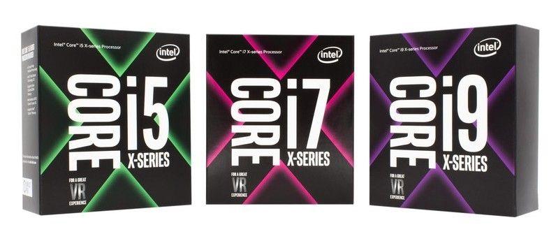 Nová rodina procesorů Intel Core X-Series