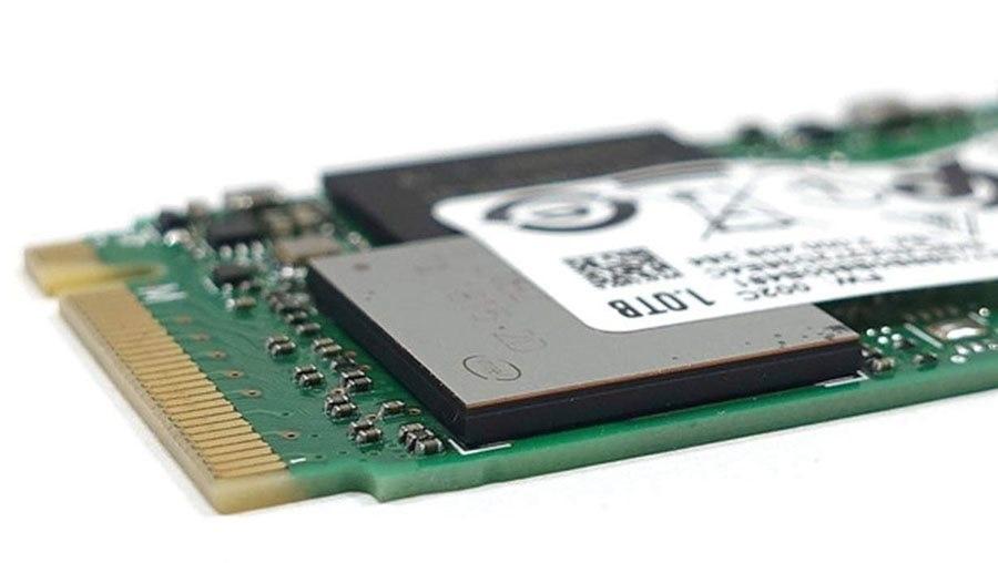 Intel SSD 660p, detail