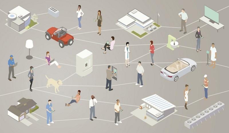 Internet věcí - propojení různých zařízení
